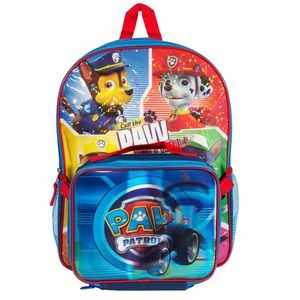 Nickelodeon PAW Patrol Backpack with Lunch Kit